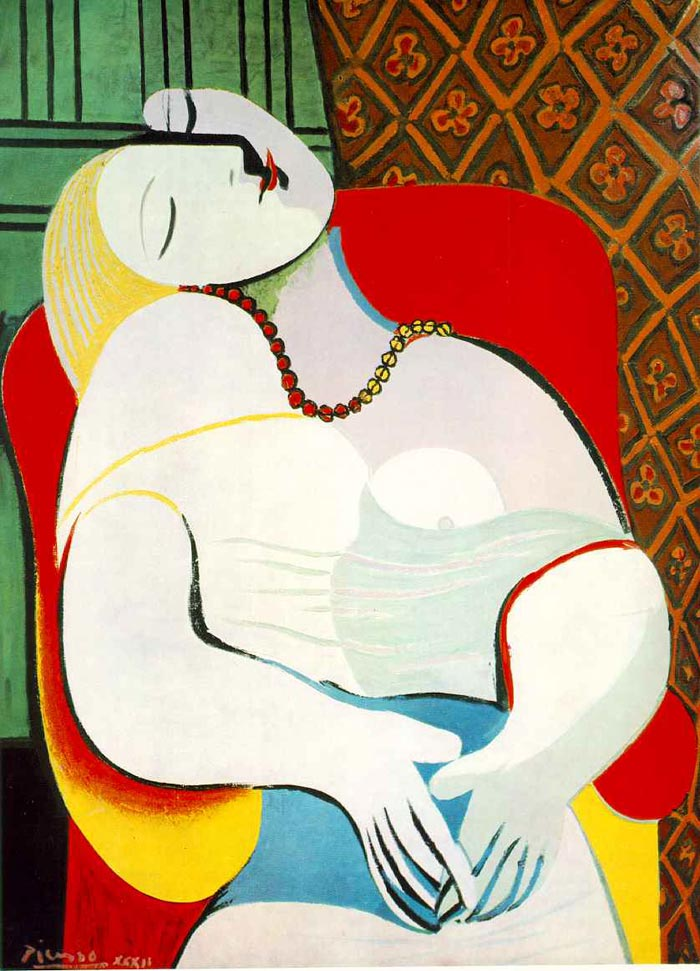 Le-Rêve-The-Dream-By-Pablo-Picasso