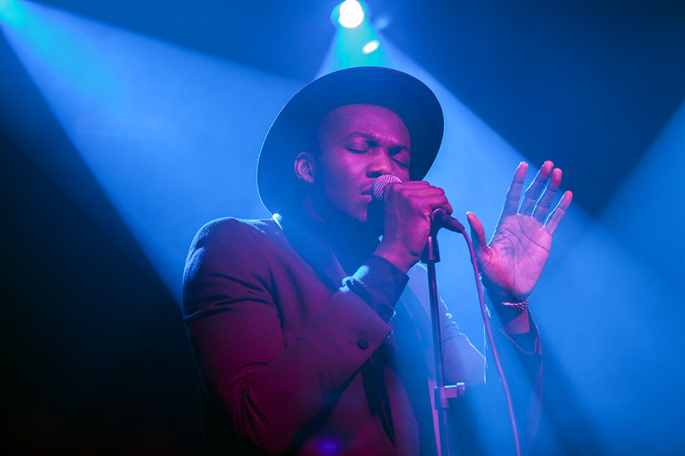 Jacob Banks-XOYO, London. 28/01/14. Photo by India Whiley-Morton