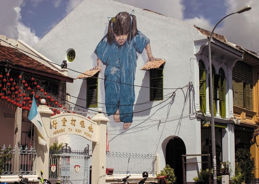 girl-george-town-malaysia