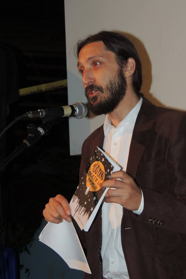 Митко Гогов е добитник на книжевната  Il Parnaso  награда   да му помогнеме да стигне до Италија