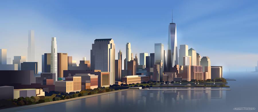 Дигитални илустрации од Њујорк