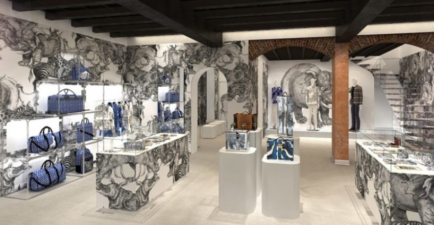 Louis Vuitton ја отвори првата pop up продавница за мажи