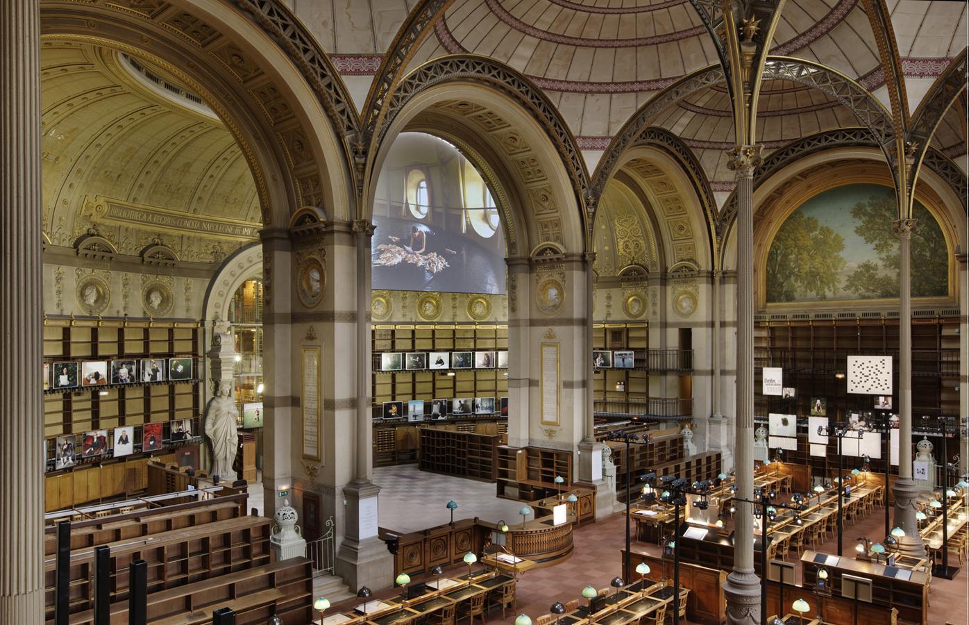 Реставрација на Националната Библиотека на Франција