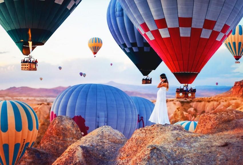 Најубавиот поглед во Кападокија   Турција