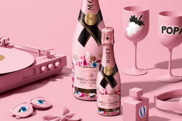 Откријте го новиот Moët Rosé  Impérial limited edition