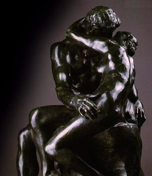 The kiss   Auguste Rodin