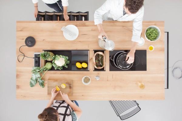 Функционална маса во кујната