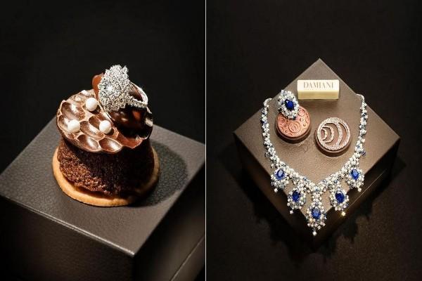 Необична презентација на колекцијата на накит Damiani Mimosa