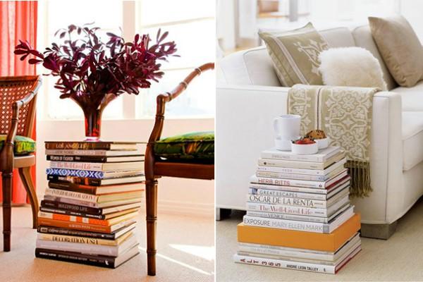 24 модерни идеи за уредување на домот со книги