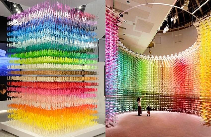 Фантастични инсталации од хартија