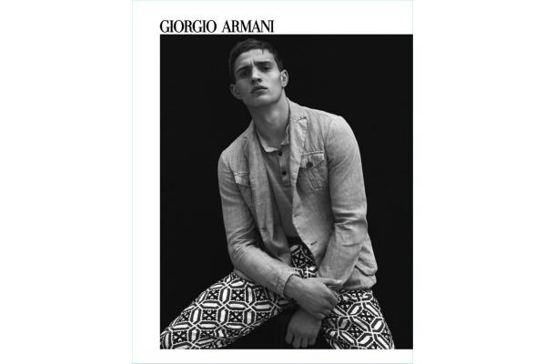 Giorgio Armani   летна кампања 2017 за мажи