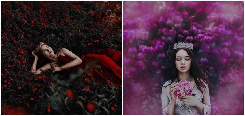 """Волшебна серија на фотографии """"The Flower Keepers""""!"""
