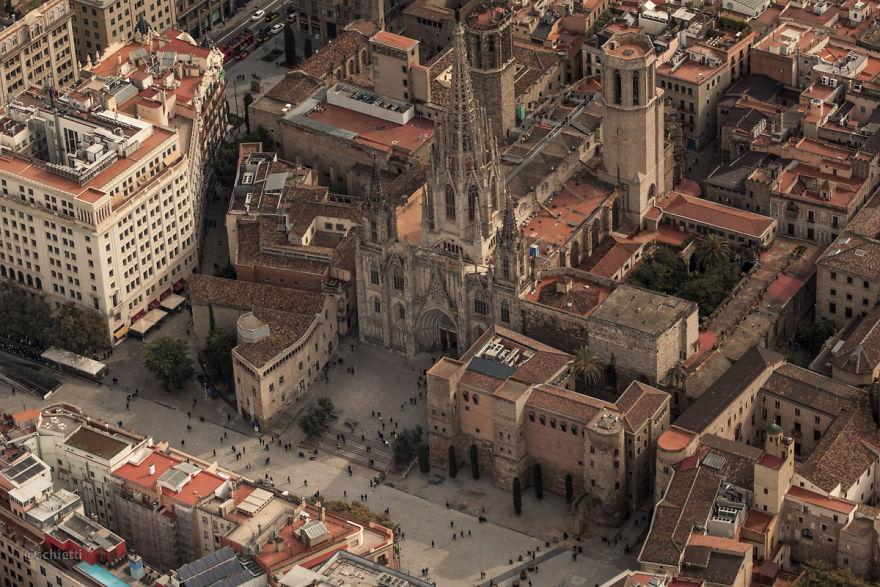 Барселона од птичја перспектива