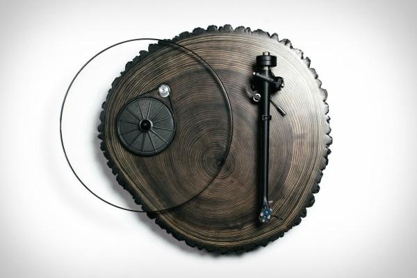 Елегантен и рачно изработен грамофон Barky