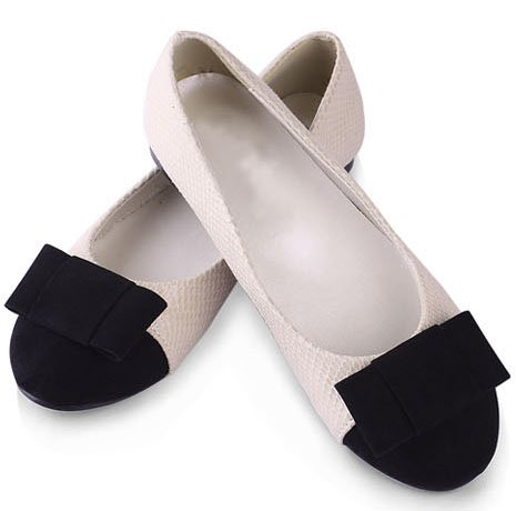 Free-Shipping-2012-New-Arrival-Women-Ballet-Flat-Shoes-Round-Toe-With-Low-Cut-Uppers-Bowties