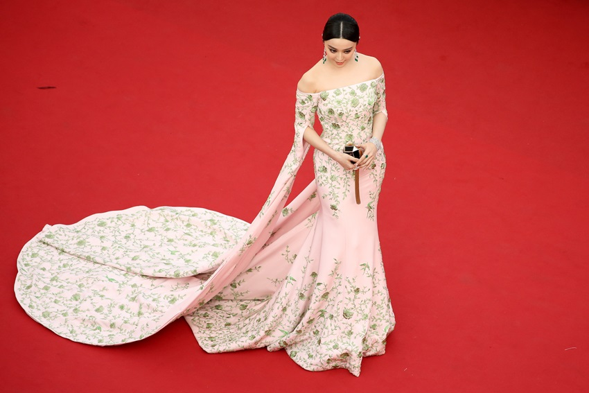 "CANNES, FRANCE - MAY 13:  Fan Bingbing attends the opening ceremony and premiere of ""La Tete Haute"" (""Standing Tall"") during the 68th annual Cannes Film Festival on May 13, 2015 in Cannes, France.  (Photo by Neilson Barnard/Getty Images)"