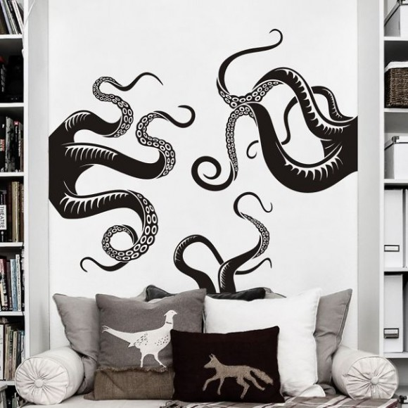 Eye-Deceiving-Ghostly-Silhouettes-That-Make-Your-Wall-Full-of-Magic18__605