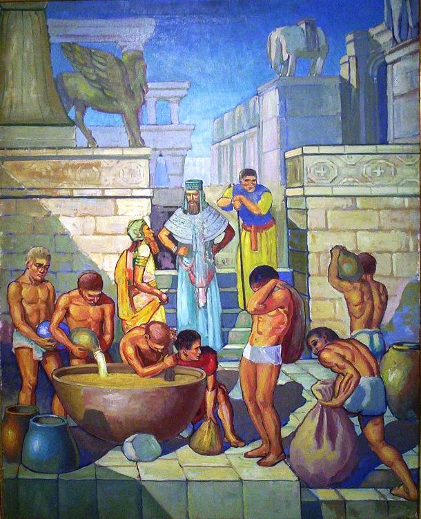madiralekh.com-Babylonian-Beer-Brewing