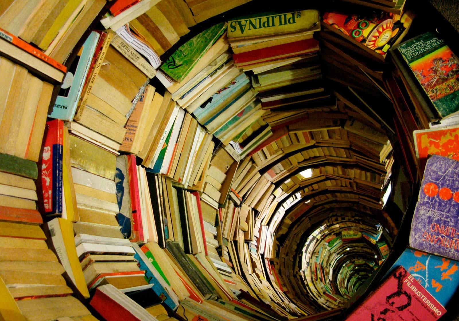 tunel libros
