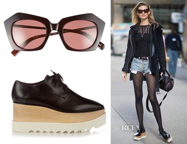 behati-prinsloos-elizabeth-and-james-bond-sunglasses-stella-mccartney-elyse-lace-up-platform-shoes