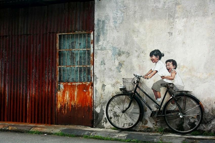 bicycle-george-town-malaysia