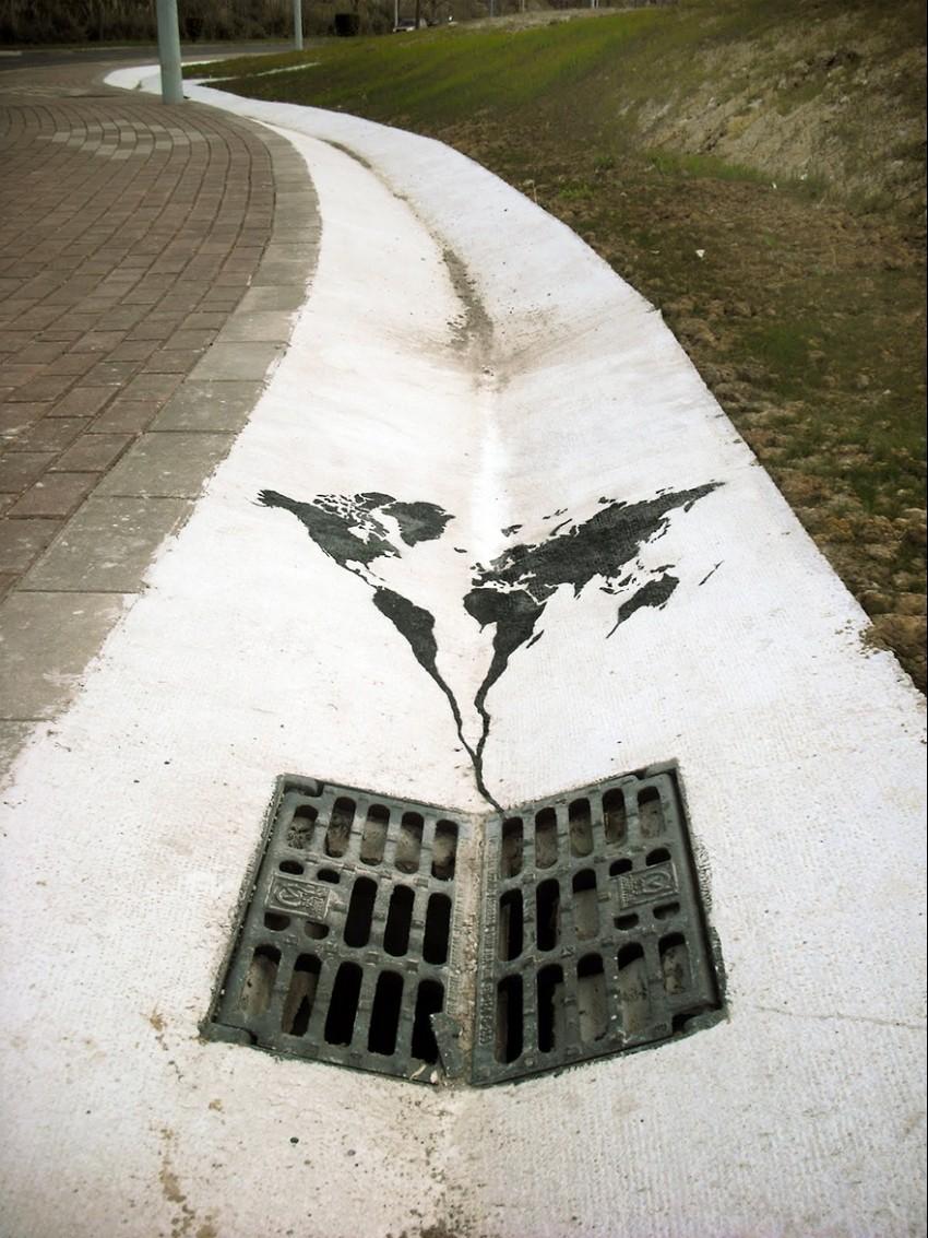 world-going-down-the-drain-spain