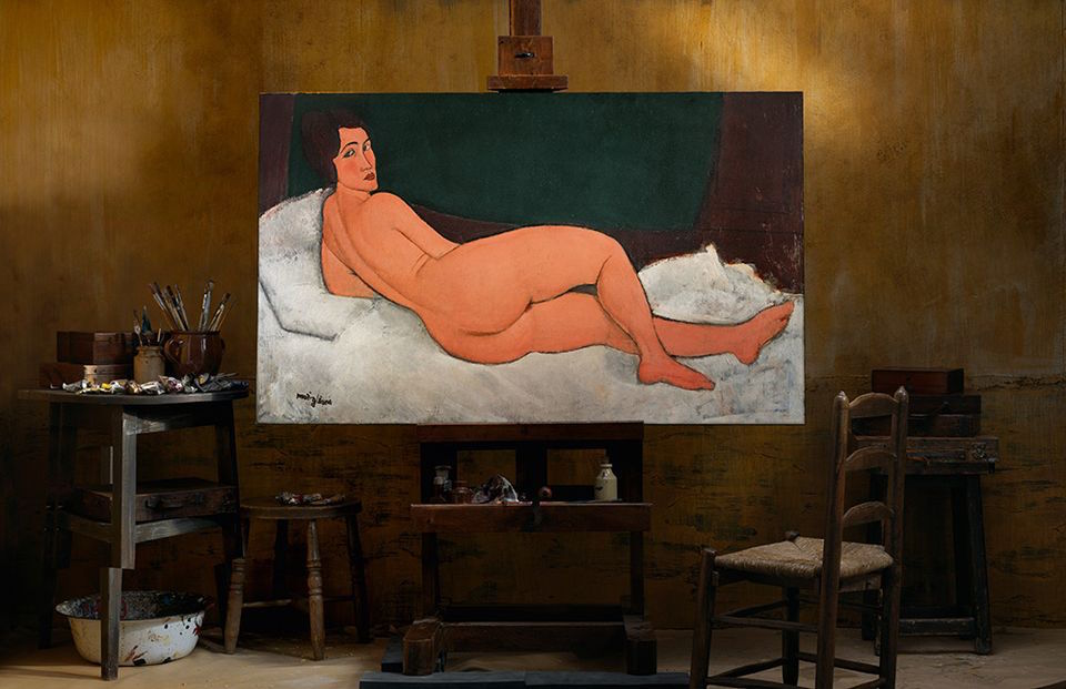 Ремек дело на Modigliani се продаде за 157 2 милиони долари